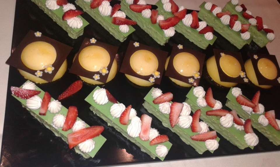 Pastry chef Frank Michel May 201615