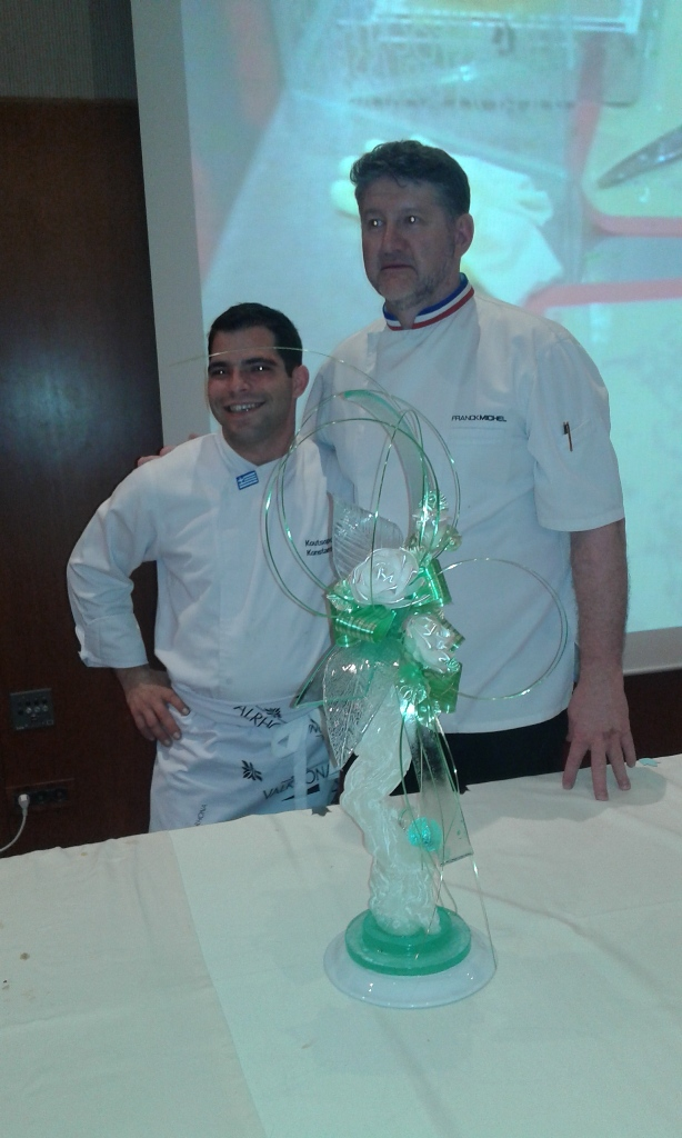 Pastry chef Frank Michel May 201622