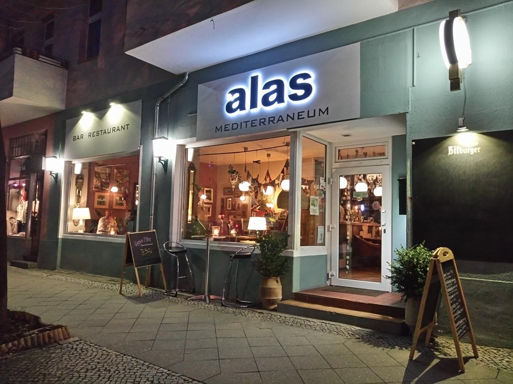 Eστιατόριο «Alas Mediterraneum», αλάτι μεσογειακής νοστιμιάς στην καρδιά τουΒερολίνου