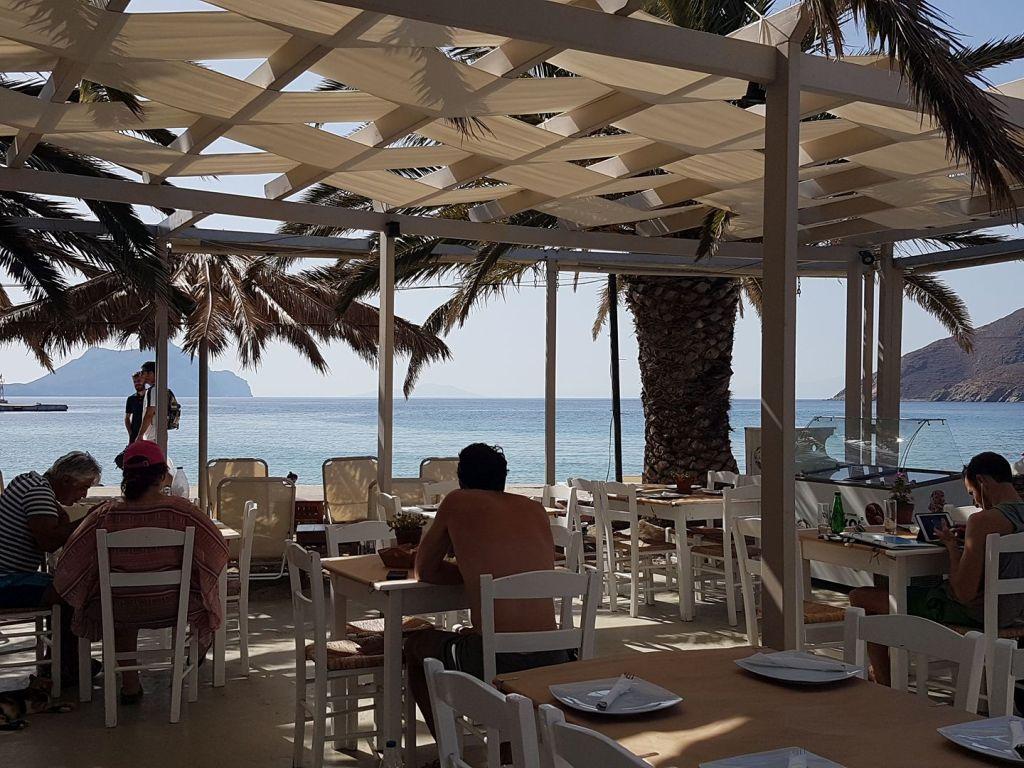 Μαθήματα μαγειρικής στην Αμοργό, στο Nissi CafeRestaurant