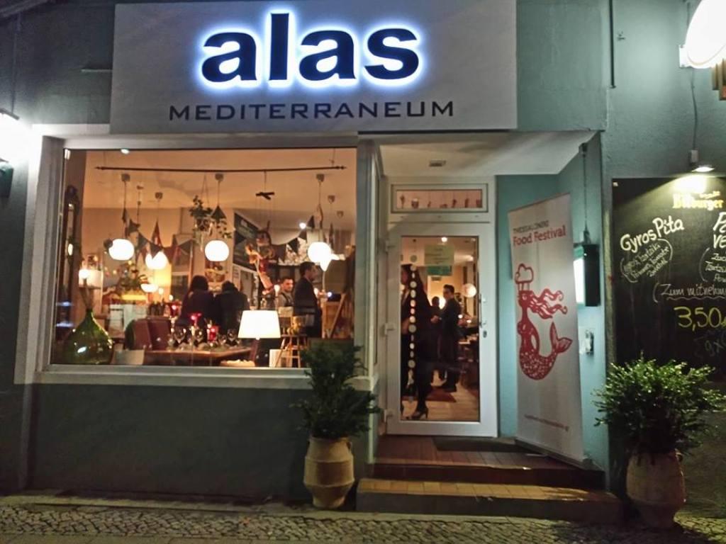 «Made in Thessaloniki Food Basket» στο ελληνικό εστιατόριο «Alas Mediterraneum» τουΒερολίνου