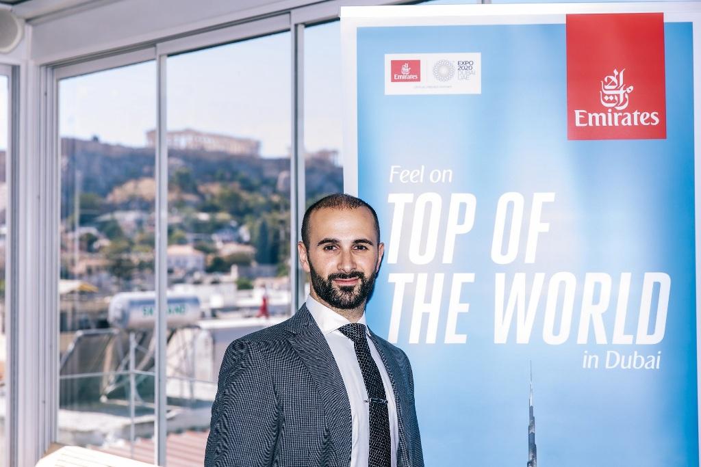 H Εmirates επιβεβαιώνει την ισχυρή παρουσία της στην ελληνική αγορά και μας προσκαλεί στην EXPO 2020 στοΝτουμπάι!
