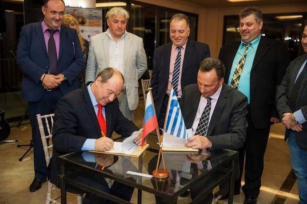 Leonid Gelibterman: «Στόχος μας να συνεχίσουμε και στο μέλλον την στενή αλληλεπίδραση με την ελληνικήπλευρά»