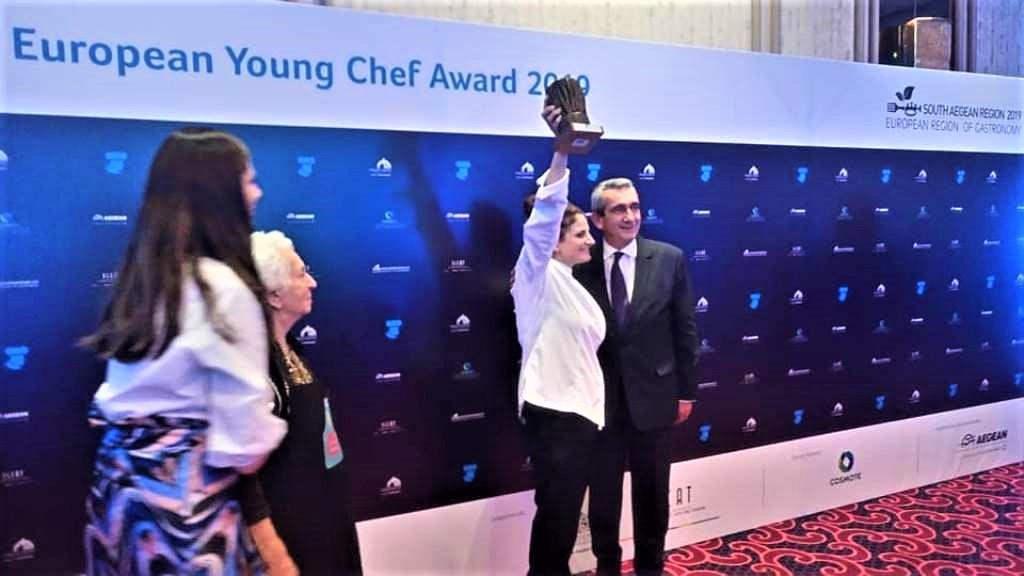 """European Young Chef 2019"" η Ροδίτισσα ΕιρήνηΓιωργουδιού!"