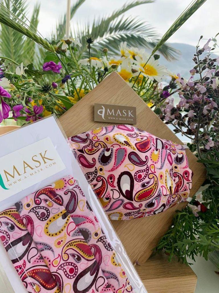 A-Mask: μία μάσκα με «προσωπικότητα» από τηνΑμοργό
