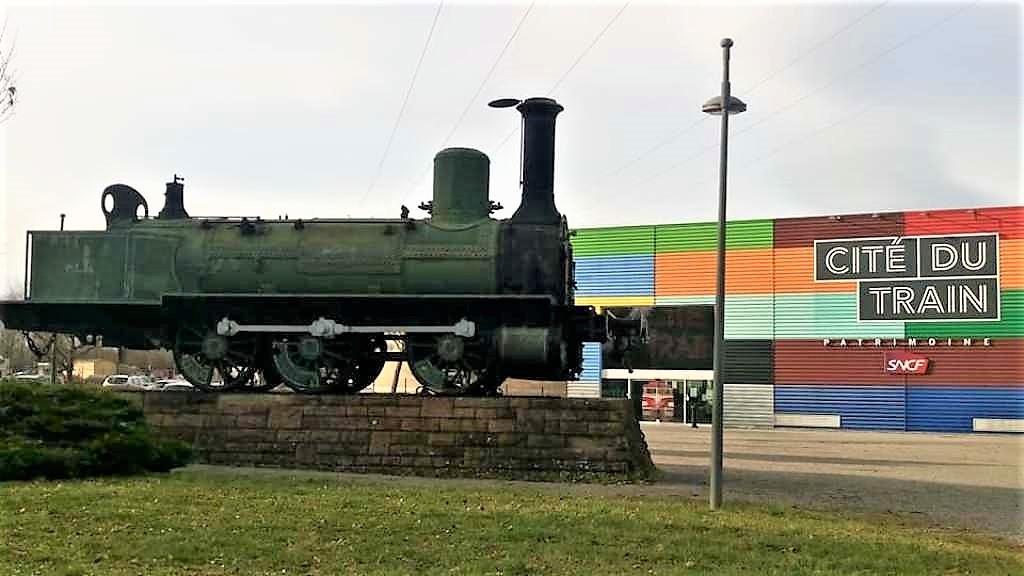 Cité du Train, το μεγαλύτερο ευρωπαϊκό Μουσείο Σιδηροδρόμων στηνMulhouse