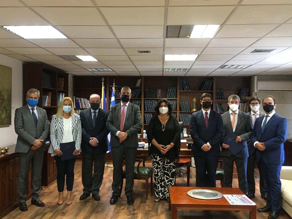 Επίσημη επίσκεψη του Πορτογάλου Υφυπουργού Εξωτερικών Eurico Brilhante Dias – «Discover Portugal» και Μνημόνιο Κατανόησης και Συνεργασίας μεταξύ των δύοχωρών