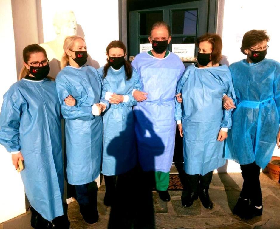 Ολοκληρωμένη Προληπτική Ιατρική Παρέμβαση στην Σίφνο από κλιμάκιο εθελοντώνιατρών